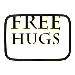 Freehugs Netbook Case (medium)  by cypryanus