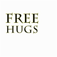 Freehugs Small Garden Flag (two Sides) by cypryanus