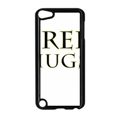 Freehugs Apple Ipod Touch 5 Case (black) by cypryanus