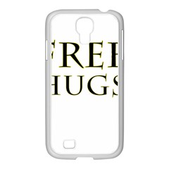 Freehugs Samsung Galaxy S4 I9500/ I9505 Case (white) by cypryanus