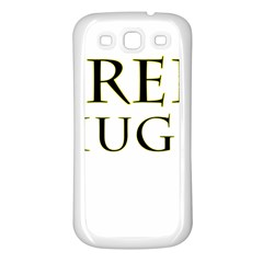 Freehugs Samsung Galaxy S3 Back Case (white) by cypryanus