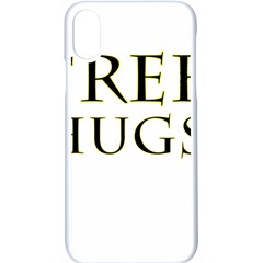 Freehugs Apple Iphone X Seamless Case (white)