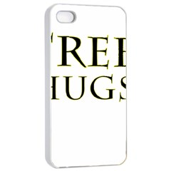 Freehugs Apple Iphone 4/4s Seamless Case (white) by cypryanus