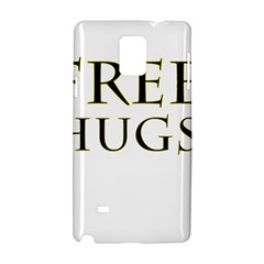 Freehugs Samsung Galaxy Note 4 Hardshell Case by cypryanus