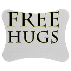 Freehugs Jigsaw Puzzle Photo Stand (bow) by cypryanus