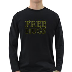 Freehugs Long Sleeve Dark T Shirts