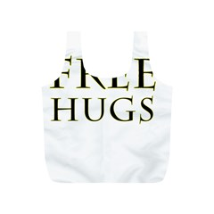 Freehugs Full Print Recycle Bags (s)  by cypryanus
