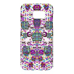 Alien Sweet As Candy Samsung Galaxy S7 Edge Hardshell Case by pepitasart