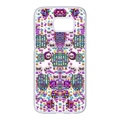 Alien Sweet As Candy Samsung Galaxy S7 Edge White Seamless Case by pepitasart