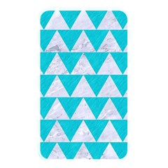 Triangle2 White Marble & Turquoise Colored Pencil Memory Card Reader by trendistuff