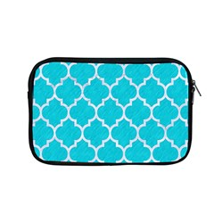 Tile1 White Marble & Turquoise Colored Pencil Apple Macbook Pro 13  Zipper Case by trendistuff