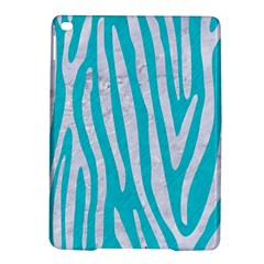 Skin4 White Marble & Turquoise Colored Pencil (r) Ipad Air 2 Hardshell Cases by trendistuff