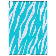 Skin3 White Marble & Turquoise Colored Pencil Apple Ipad Pro 12 9   Hardshell Case by trendistuff