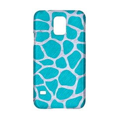 Skin1 White Marble & Turquoise Colored Pencil (r) Samsung Galaxy S5 Hardshell Case  by trendistuff