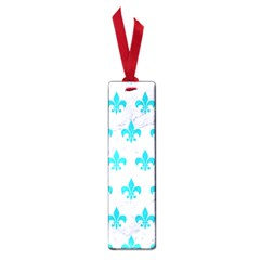 Royal1 White Marble & Turquoise Colored Pencil Small Book Marks