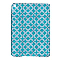 Circles3 White Marble & Turquoise Colored Pencil Ipad Air 2 Hardshell Cases by trendistuff