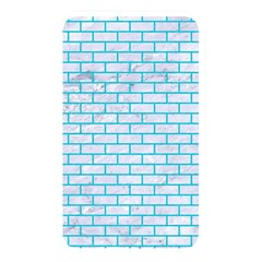 Brick1 White Marble & Turquoise Colored Pencil (r) Memory Card Reader by trendistuff