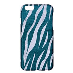 Skin3 White Marble & Teal Leather Apple Iphone 6 Plus/6s Plus Hardshell Case by trendistuff