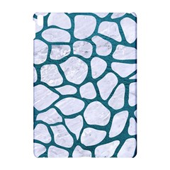Skin1 White Marble & Teal Leather Apple Ipad Pro 10 5   Hardshell Case by trendistuff
