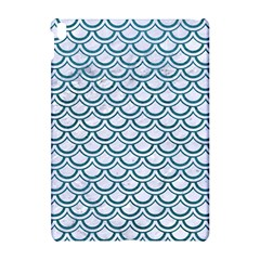 Scales2 White Marble & Teal Leather (r) Apple Ipad Pro 10 5   Hardshell Case by trendistuff