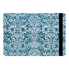 Damask2 White Marble & Teal Leather Apple Ipad Pro 10 5   Flip Case by trendistuff