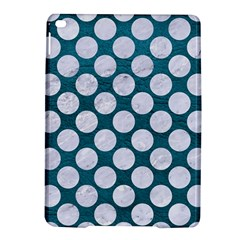 Circles2 White Marble & Teal Leather Ipad Air 2 Hardshell Cases by trendistuff