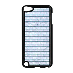 Brick1 White Marble & Teal Leather (r) Apple Ipod Touch 5 Case (black) by trendistuff