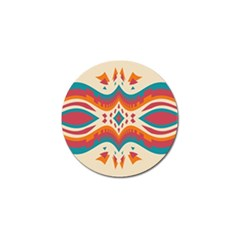 Symmetric Distorted Shapes                              Golf Ball Marker (4 Pack) by LalyLauraFLM