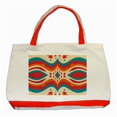 Symmetric Distorted Shapes                              Classic Tote Bag (red) by LalyLauraFLM