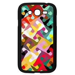 Colorful Shapes                         Samsung Galaxy S4 I9500/ I9505 Case (black) by LalyLauraFLM