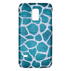 Skin1 White Marble & Teal Brushed Metal (r) Galaxy S5 Mini by trendistuff