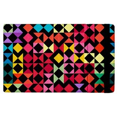 Colorful Rhombus And Triangles                          Kindle Fire (1st Gen) Flip Case by LalyLauraFLM