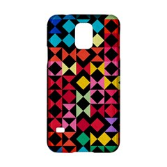 Colorful Rhombus And Triangles                          Nokia Lumia 625 Hardshell Case by LalyLauraFLM