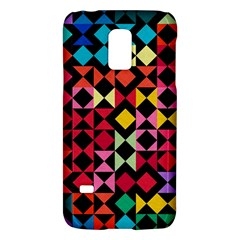 Colorful Rhombus And Triangles                          Lg Optimus L70 Hardshell Case by LalyLauraFLM