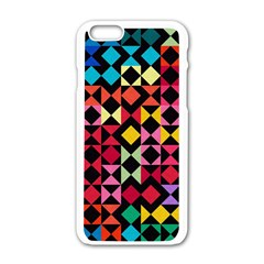 Colorful Rhombus And Triangles                          Motorola Moto E Hardshell Case by LalyLauraFLM
