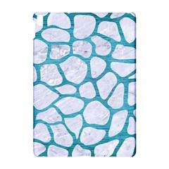 Skin1 White Marble & Teal Brushed Metal Apple Ipad Pro 10 5   Hardshell Case by trendistuff