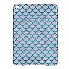 Scales1 White Marble & Teal Brushed Metal (r) Ipad Air 2 Hardshell Cases by trendistuff