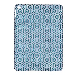 Hexagon1 White Marble & Teal Brushed Metal (r) Ipad Air 2 Hardshell Cases by trendistuff