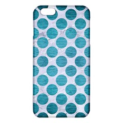 Circles2 White Marble & Teal Brushed Metal (r) Iphone 6 Plus/6s Plus Tpu Case by trendistuff