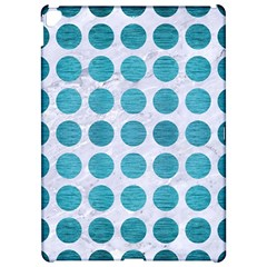 Circles1 White Marble & Teal Brushed Metal (r) Apple Ipad Pro 12 9   Hardshell Case by trendistuff