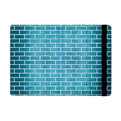 Brick1 White Marble & Teal Brushed Metal Ipad Mini 2 Flip Cases by trendistuff
