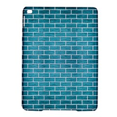 Brick1 White Marble & Teal Brushed Metal Ipad Air 2 Hardshell Cases by trendistuff