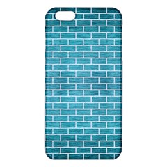 Brick1 White Marble & Teal Brushed Metal Iphone 6 Plus/6s Plus Tpu Case by trendistuff