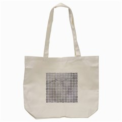 Woven1 White Marble & Silver Paint (r) Tote Bag (cream) by trendistuff