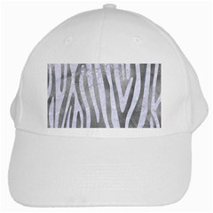 Skin4 White Marble & Silver Paint (r) White Cap by trendistuff