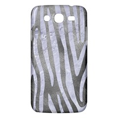 Skin4 White Marble & Silver Paint (r) Samsung Galaxy Mega 5 8 I9152 Hardshell Case  by trendistuff