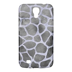 Skin1 White Marble & Silver Paint (r) Samsung Galaxy Mega 6 3  I9200 Hardshell Case by trendistuff