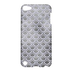 Scales2 White Marble & Silver Paint Apple Ipod Touch 5 Hardshell Case by trendistuff