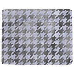 Houndstooth1 White Marble & Silver Paint Jigsaw Puzzle Photo Stand (rectangular) by trendistuff