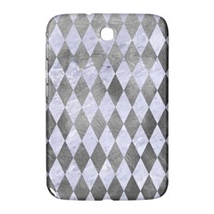 Diamond1 White Marble & Silver Paint Samsung Galaxy Note 8 0 N5100 Hardshell Case  by trendistuff
